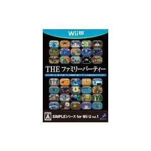 SIMPLEシリーズ for Wii U vol.1 THE ファミリーパーティー WiiU ソフト WUP-P-AFPJ / 中古 ゲーム dorama