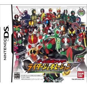 オール仮面ライダー ライダージェネレーション DS ソフト NTR-P-TAKJ / 中古 ゲーム|dorama