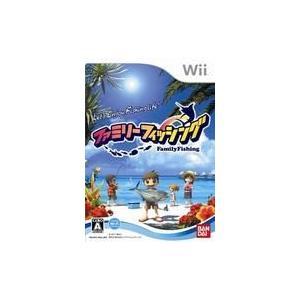 ファミリーフィッシング ソフト単品版 Wii ソフト RVL-P-S22J / 中古 ゲーム|dorama