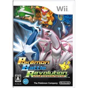 ポケモンバトルレボリューション Wii ソフト RVL-P-RPBJ / 中古 ゲーム|dorama