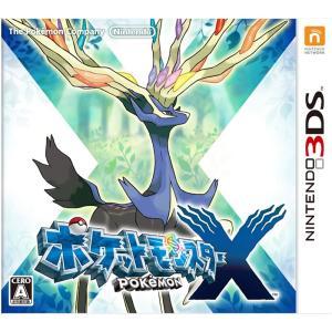 ポケットモンスターX 3DS ソフト CTR-P-EKJJ / 中古 ゲーム