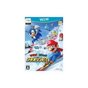 マリオ&ソニック AT ソチオリンピック WiiU ソフト WUP-P-AURJ / 中古 ゲーム dorama