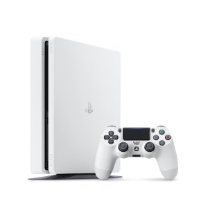 PS4 本体 / プレイステーション4 本体 グレイシャー・ホワイト 500GB PS4 本体 CUH-2200AB02 / 中古 ゲーム|dorama
