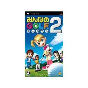 みんなのGOLF ポータブル2 PSP ソフト UCJS-10075 / 中古 ゲーム