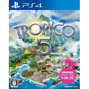 トロピコ5 PS4 / 中古 ゲーム