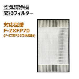 F-ZXFP70 空気清浄機交換用フィルター F-ZXEP65の後継品モデル 汎用型 非純正 互換|dorarecoya
