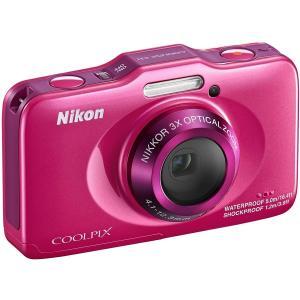 Nikon デジタルカメラ COOLPIX S31 防水5m 耐衝撃1.2m ピンク S31PK