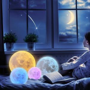 CPLA 月ライト 月ランプ ナイトライト 間接照明 授乳用ライト ベビー ライト LEDライト ベッドサイ テーブルランプ デスクライト|doreminchi