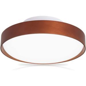 Dotoy ledシーリングライト 小型 6畳~8畳 20W ブラウン木枠 2000lm led電球 200W形相当 昼光色 照明器具 天井|doreminchi