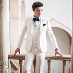 内容:ジャケット パンツ ベスト 素材:ポリエステル100% カラー:ホワイト