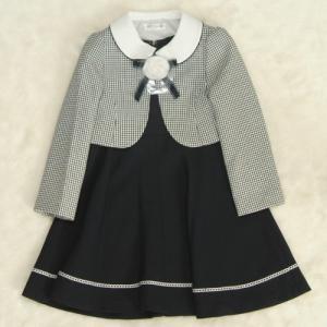 アウトレット 女児キッズフォーマルアンサンブル3点セット 水色 ボレロ ジャンスカワンピタイプ 120cm|doresukimono-kyoubi