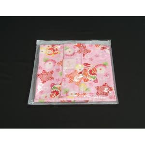 七五三 着物 7歳 女の子四つ身着物 ピンク色地 橘華 桜地紋 doresukimono-kyoubi 07