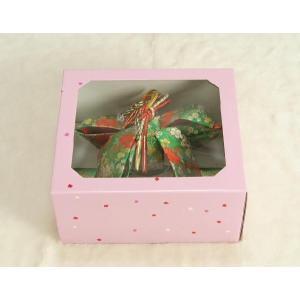 七五三着物用祝い帯 7歳用 緑 桜流水柄 飾り紐付き 大サイズ 日本製|doresukimono-kyoubi|05