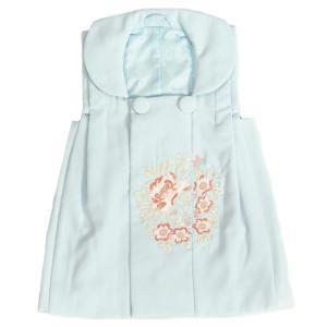 式部浪漫被布 着物 3歳 黄緑地 ピンク捻り梅桜 七五三 ひな祭り お正月 日本製|doresukimono-kyoubi