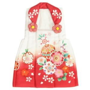 七五三 被布着単品 女の子 着物 3歳 ベージュ色 刺繍牡丹 綾織生地 ひな祭り お正月