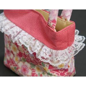 七五三 3歳から5歳用 草履バッグセット ピンク 桜柄 日本製|doresukimono-kyoubi|05