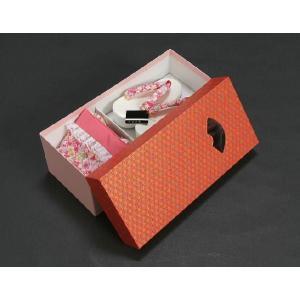七五三 3歳から5歳用 草履バッグセット ピンク 桜柄 日本製|doresukimono-kyoubi|06