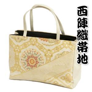 金襴バッグ 和洋兼用 礼装及びカジュアルスタイルのサブバッグ 縦型 有職文様 手提げタイプ 有職文様 日本製|doresukimono-kyoubi
