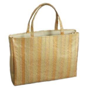 金襴バッグ 和洋兼用 礼装及びカジュアルスタイルのサブバッグ 横型 手提げタイプ 小柄有職紋文様 日本製|doresukimono-kyoubi