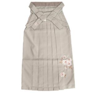 卒業袴 卒業式 HLブランド 黒 ジルコニア 桜地紋 へら付き 特価品|doresukimono-kyoubi