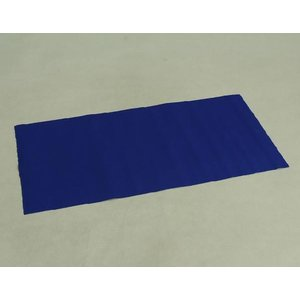 お宮参り着物専用飾り台 プラスチック製撞木(しゅもく) 男の子に最適な青毛氈付き組み立てタイプ 日本製|doresukimono-kyoubi|05