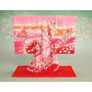 お宮参り着物専用飾り台 プラスチック製撞木(しゅもく) 女の子に最適な赤毛氈付き組み立てタイプ 日本製|doresukimono-kyoubi|02