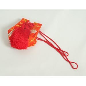 お宮参り小物 お守り袋 赤色 化粧箱付 女の子に最適 日本製|doresukimono-kyoubi|02