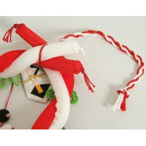 お宮参り ちりめん吊るし飾り 飾り台付き 男の子向き 日本製 doresukimono-kyoubi 05