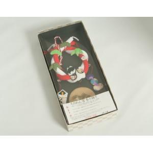 お宮参り ちりめん吊るし飾り 飾り台付き 男の子向き 日本製 doresukimono-kyoubi 10