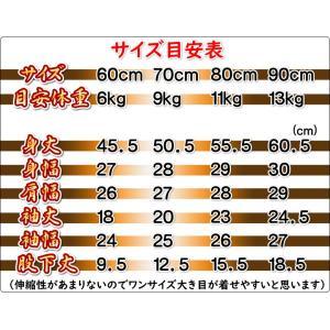 ベビー ロンパース 袴スタイル 光琳椿 黄色×濃ピンク色 カバーオール 初節句 60 70 80 90|doresukimono-kyoubi|02