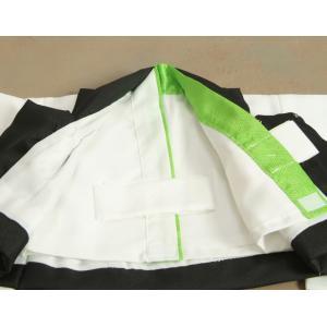 ベビー着物 赤ちゃん用男の子着物 水色着物 水色被布 二部式仕様の楽々着せ付けタイプ|doresukimono-kyoubi|04