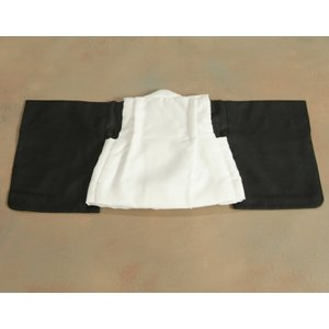 ベビー着物 赤ちゃん用男の子着物 水色着物 水色被布 二部式仕様の楽々着せ付けタイプ|doresukimono-kyoubi|05