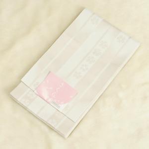 浴衣帯 シルバーグレー 柄タイプ 矢絣桜柄 単(ひとえ)帯 袴下帯 日本製|doresukimono-kyoubi