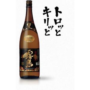 芋焼酎 霧島酒造 黒霧島 25度 25% 1800ml 1.8L瓶 6本まで1梱包 dorinkuya2