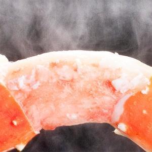 (送料無料 タラバガニ 大型)4Lサイズ 750g前後×2肩(タラバ蟹 蟹足 蟹脚 1.5kg 北海道直送 船上ボイル冷凍 ボイル済み)|dosanko-factory|08