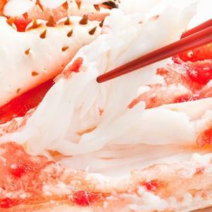 (タラバガニ 蟹足 蟹脚 特大)5Lサイズ 1kg前後×1肩(タラバ蟹 北海道直送 船上ボイル冷凍 ボイル済み 極上プレミアム)|dosanko-factory|03