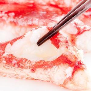 ポーション(訳あり)5L タラバガニ 1kg(生 北海道直送 蟹鍋 蟹しゃぶ 剥き身 かにしゃぶ)甘味が断然違う!ギフトにも大好評、高評価ありがとうございます!|dosanko-factory|06