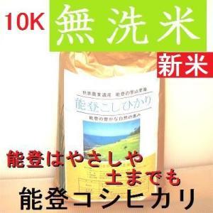 予約受付中:新米H30年産/無洗米/能登コシヒカリ/特A一等米10K(5k×2):世界農業遺産:能登の里山:食味値:80|dotg-live|04