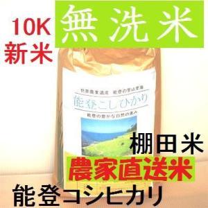 新米H29年産/特別栽培:棚田米/特A一等米10K(5k×2袋)/無洗米/能登コシヒカリ:世界農業遺産:能登の里山:食味値:86|dotg-live|06