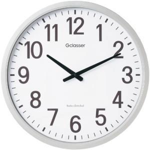 キングジム 電波掛時計 ザラージ|dotkae-ru