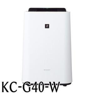 代引不可送料無料 ●品番:KC-G40W●入数:1台●高濃度プラズマクラスター 適用床面積(目安):...