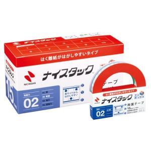 ニチバン ナイスタック[R] はくり紙がはがしやすいタイプ ブンボックス[TM] 寸法:幅15mm×長18m|dotkae-ru