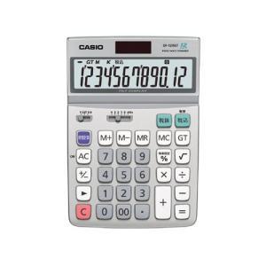 代引不可 カシオ 「グリーン購入法」適合電卓 DF−120GT−N(シルバー)|dotkae-ru