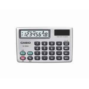 カシオ 電卓 TWO−WAY電源 横型|dotkae-ru