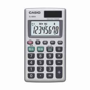 カシオ 電卓 TWO−WAY電源 縦型|dotkae-ru