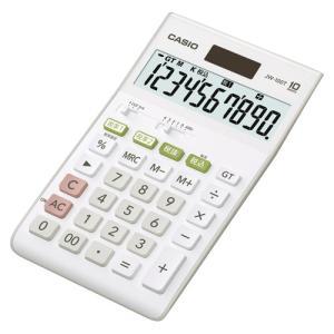カシオ ジャストタイプ電卓10桁|dotkae-ru