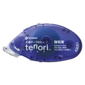 ニチバン テープのり tenori[R] 強粘着幅8.4mm×長16m 仕様:本体|dotkae-ru