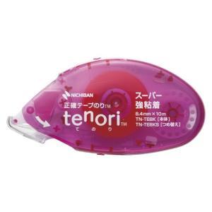ニチバン テープのり tenori[R] 強粘着パワータイプ幅8.4mm×長10m 仕様:本体|dotkae-ru