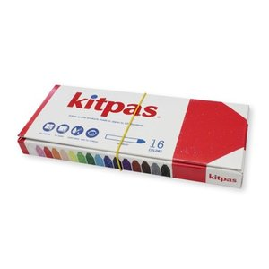 日本理化学 キットパス ミディアム 16色セット 16本入|dotkae-ru