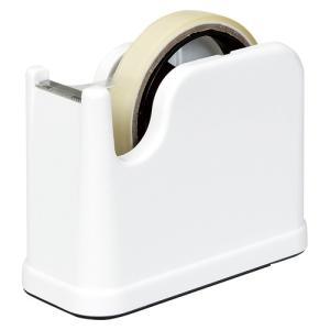 ナカバヤシ テープカッター NTC−201(ホワイト)